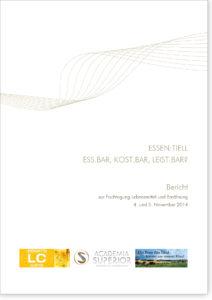 ESSEN:TIELL – ess.bar, kost.bar, leist.bar?. Bericht zur Fachtagung