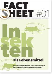 Factsheet: Insekten als Lebensmittel