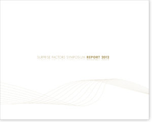 SURPRISE FACTORS SYMPOSIUM REPORT 2012: Das neue Alt