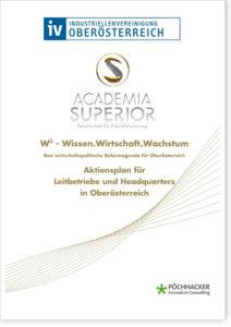Aktionsplan für Leitbetriebe und Headquarters in Oberösterreich