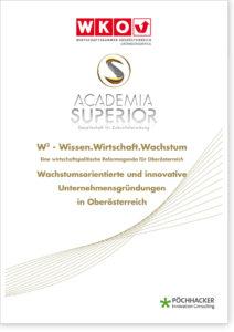 Wachstumsorientierte und innovative Unternehmensgründungen in Oberösterreich