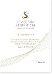 Bericht | Stakeholderforum Demenz