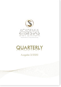 ACADEMIA SUPERIOR QUARTERLY | Ausgabe 3/2020