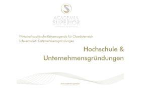 Bericht Hochschulen & Unternehmensgründungen